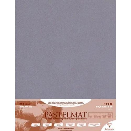 Clairefontaine Foglio Pastelmat Gr.360//mq Cm.50x70 Bianco