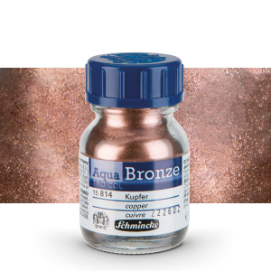 PIGMENTO METALLICO DILUIBILE IN ACQUA 20 ML AQUA BRONZE SCHMINCKE