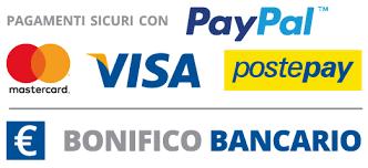 Pagamenti sicuri gestiti con PayPal!